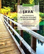 Java: An Introduction to Problem Solving and Programming