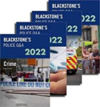 Blackstone's Police Q&A Four Volume Set 2022
