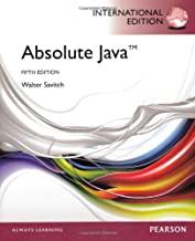 Absolute Java: International Edition