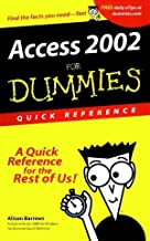 Access 2002 for Dummies Quick Reference