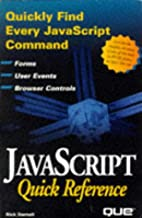 Javascript Quick Reference