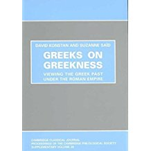 Greeks on Greekness: Viewing the Greek Past Under the Roman Empire