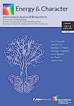 Energy & Character - Volume 13 - N.2: August 1982 - International Journal of Biosynthesis