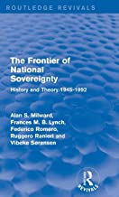 The Frontier of National Sovereignty: History and Theory 1945-1992