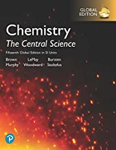 Chemistry: The Central Science in SI Units plus Pearson Mastering Chemistry with Pearson eText, 15th Global Edition