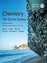 Chemistry: The Central Science plus Pearson Mastering Chemistry with Pearson eText, Expanded Edition, 15th [Global Edition]