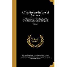 TREATISE ON THE LAW OF CARRIER