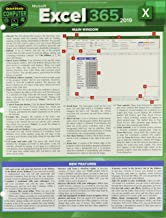 Microsoft Excel 365 2019: A Quickstudy Laminated Sotware Reference Guide