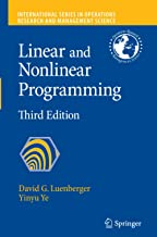 Linear and Nonlinear Programming: 116
