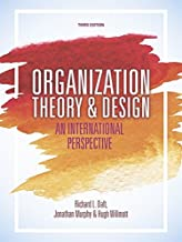Daft, R: Organization Theory and Design