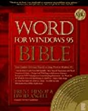 Word for Windows 95 Bible