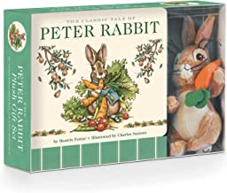 The Peter Rabbit Plush Gift Set (The Revised Edition): Includes the Classic Edition Board Book + Plush Stuffed Animal Toy Rabbit Gift Set