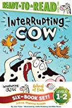 Joking, Rhyming Animals Ready-to-Read Value Pack: Interrupting Cow; Interrupting Cow and the Chicken Crossing the Road; School of Fish; Friendship on the High Seas; Racing the Waves; Rocking the Tide