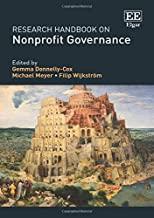 Research Handbook on Nonprofit Governance