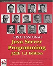 Professional Java Server Programming J2Ee 1.3 Edition