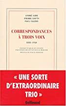 Correspondances à trois voix: 1888-1920