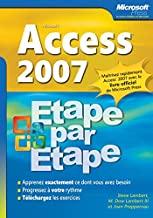 Access 2007: Etape par Etape