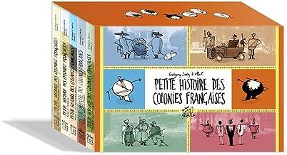 Coffret Petite histoire des colonies françaises: Tome 1, L'Amérique français ; Tome 2, L'empire ; Tome 3, La décolonisation ; Tome 4, La Françafrique ; Tome 5, Les immigrés