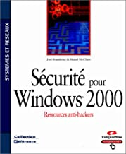 Sécurité pour Windows 2000