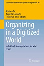 Organizing in a Digitized World: Individual, Managerial and Societal Issues: 50