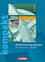Fokus Mathematik - Gymnasium Rheinland-Pfalz: 8. Schuljahr - Fokus kompakt - Orientierungswissen: Schülermaterial mit Lösungen