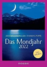 Das Mondjahr 2022: s/w-Taschenkalender - Das Original