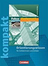 Fokus Mathematik - Kernlehrpläne Gymnasium Nordrhein-Westfalen: 8. Schuljahr - Fokus kompakt - Orientierungswissen: Schülermaterial mit Lösungen
