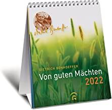 Von guten Mächten 2022: Postkartenkalender zum Aufstellen