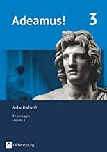 Adeamus! - Ausgabe A - Arbeitsheft 3 mit Lösungen - Latein als 2. Fremdsprache