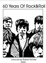 The Greatest Rock 'n Roll Band (Wandkalender 2022 DIN A2 hoch): Linolportraits der dienstältesten Band der Welt (Monatskalender, 14 Seiten )