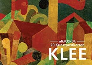 Postkarten-Set Paul Klee: 20 Kunstpostkarten aus hochwertigem Karton. ca. € 0,25 pro Karte