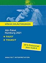 Abitur Deutsch Hamburg 2021 - Königs Erläuterungen-Paket: Ein Bundle mit allen Lektürehilfen zur Abiturprüfung: Faust I, Transit
