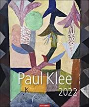 Paul Klee Kalender 2022 - Kunstkalender mit internationalem Monatskalendarium - 12 Kunstwerke - 46 x 55 cm