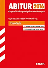 STARK Abiturprüfung Baden-Württemberg - Deutsch
