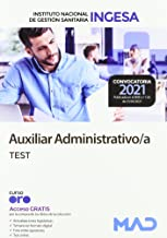 Auxiliar Administrativo del Instituto Nacional de Gestión Sanitaria (INGESA). Test