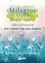 Milagros diarios: Libro y 50 cartas de Un curso de milagros