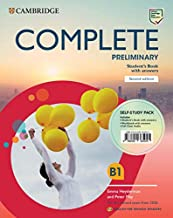 Complete Preliminary Self-study pack (Student's Book with answers and Workbook with answers and Class Audio) English for Spanish Speakers