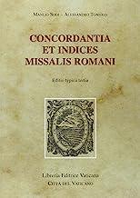 Concordantia et Indices Missalis Romani. Editio typica tertia