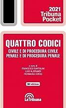 Quattro codici. Civile e di procedura civile - Penale e di procedura penale 2021