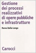 Gestione dei processi realizzativi di opere pubbliche e infrastrutture