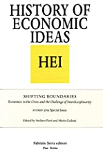 Shifting Boundaries. Economics in the crisis and the challenge of interdisciplinarity. Storep 2015 special issue