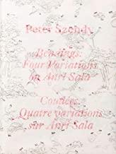 Peter Szendy. Bendings: four variations on Anri Sala. Ediz. inglese e francese: Quatre variations sur Anri Sala