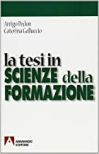 La tesi in scienze della formazione