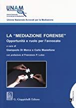 La «mediazione forense». Opportunità e ruolo per l'avvocato