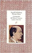 A proposito del doctor Faustus. Lettere (1930-1951)