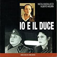 Io e il Duce : sceneggiatura originaria dell'omonimo film di Alberto Negrin