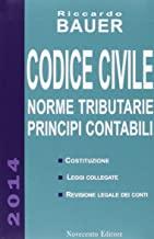 Codice civile. Norme tributarie, principi contabili