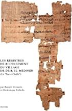 Les Registres De Recensement Du Village De Deir El-medineh