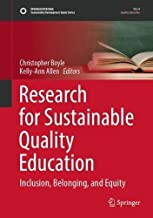 Research for Sustainable Quality Education: Inclusion, Belonging, and Equity