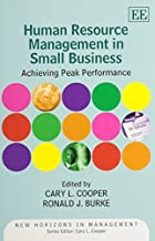 [(Human Resource Management in Small Business )] [Author: Cary L. Cooper] [Dec-2012]